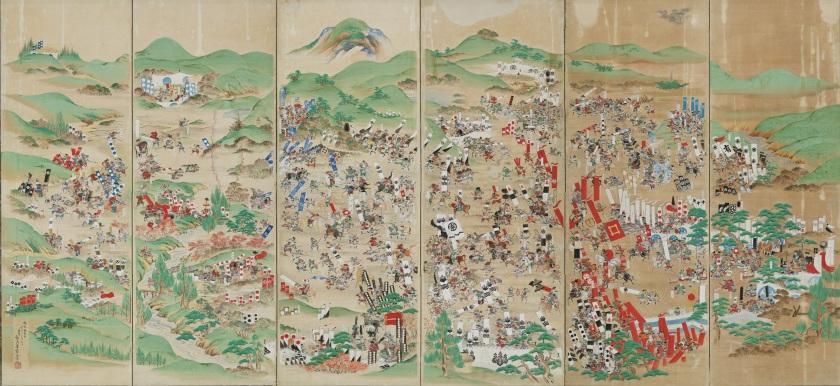 Sekigahara Painting