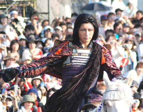 Gackt as Kenshin