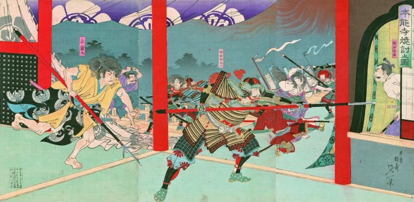 Honnoji Incident Painting